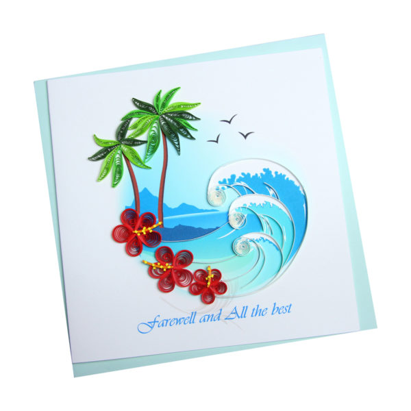 VN2XM1150O2E1 - Quilling Arts - VIET NET - Crafted Gifts By Hand And Heart