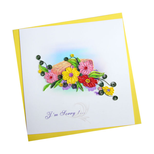 VN2NN115SD9E1 - Quilling Arts - VIET NET - Crafted Gifts By Hand And Heart
