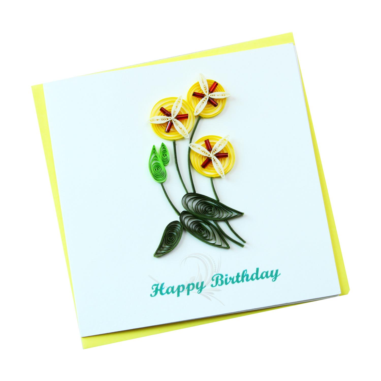 Happy Birthday Vn2nn110023e2 Quilling Arts Viet Net