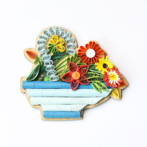 VN6MN4BZ007NN - Quilling Arts - VIET NET - Crafted Gifts By Hand And Heart