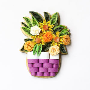 VN6MN4BZ010NN - Quilling Arts - VIET NET - Crafted Gifts By Hand And Heart