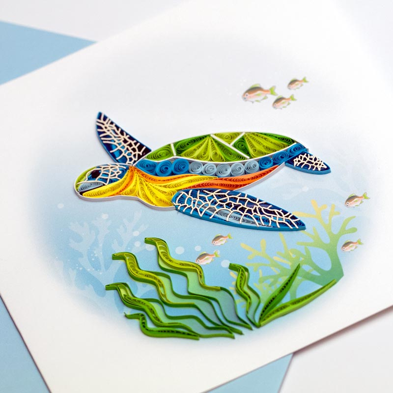 Quilling-Arts-Viet-Net-From-hand-with-love-Quilled-quilling-greeting-card-15-x-15-cm-animal-VN2XM1150NBNN