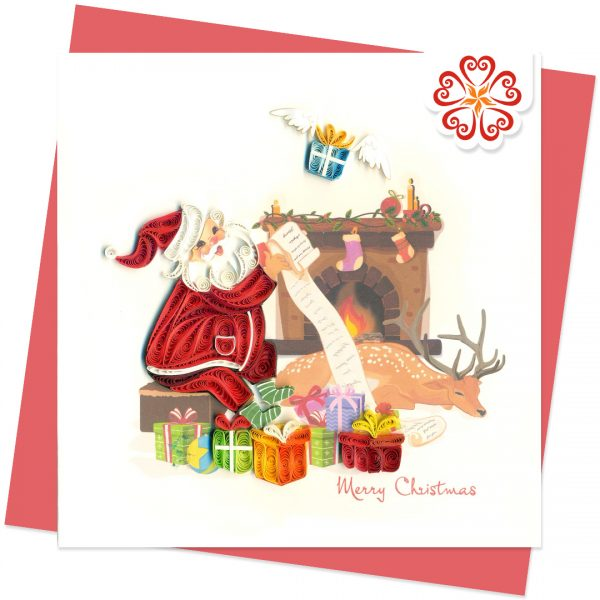 Quilling-Arts-Viet-Net-From-hand-with-love-Busy-Santa-Christmas-Quilled-greeting-card-15x15cm-Merry-Christmas-VN1XM115164E2