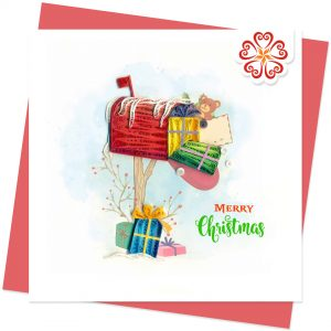 Quilling-Arts-Viet-Net-From-hand-with-love-Christmas-mail-box-Christmas-Quilled-greeting-card-15x15cm-Merry-Christmas-VN1XM115163E2