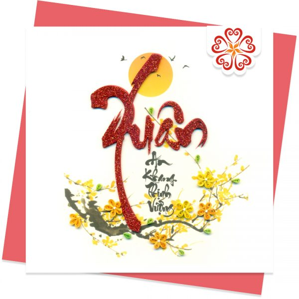 Quilling-Arts-Viet-Net-From-hand-with-love-Lunar-new-yeart-light-Quilled-greeting-card-15x15cm-VN1QL115015C1-1