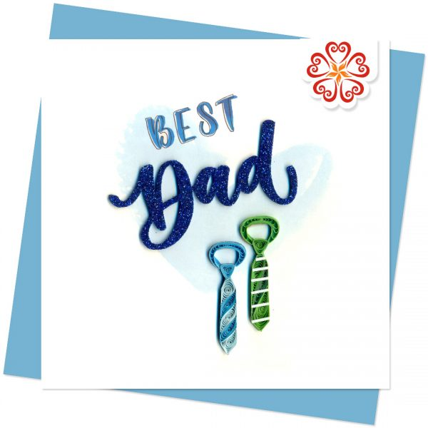 Quilling-Arts-Viet-Net-From-hand-with-love-Fathers-day-Quilled-greeting-card-15x15cm-VN2QL115017E1