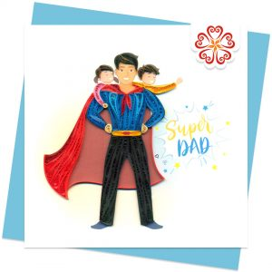 Quilling-Arts-Viet-Net-From-hand-with-love-Fathers-day-Quilled-greeting-card-15x15cm-VN2XM115A07E1