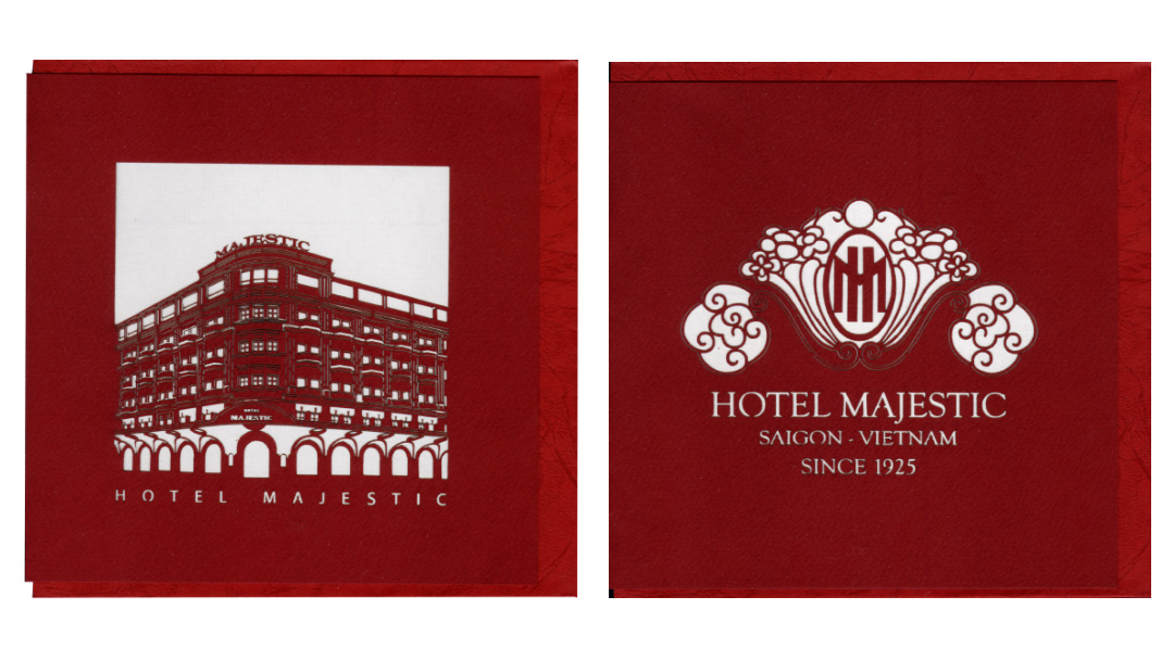 majestic hotel Vietnam - Viet Net Quilling Arts - From hand with love