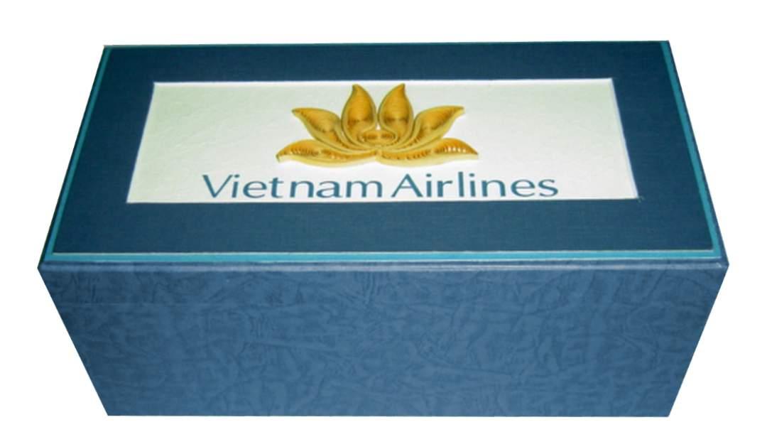 Vietnamairlines Vietnam - Viet Net Quilling Arts - From hand with love