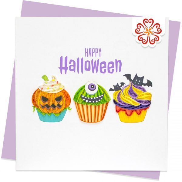 Quilling-Arts-Viet-Net-From-hand-with-love-Love-Quilled-greeting-card-15x15cm-Halloween-Cakes