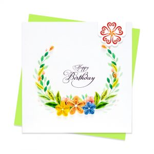 Quilling-Arts-Viet-Net-From-hand-with-love-Quilled-greeting-card-10x10cm-HPBD-wild-flowers-wreath VN2XM110194E1