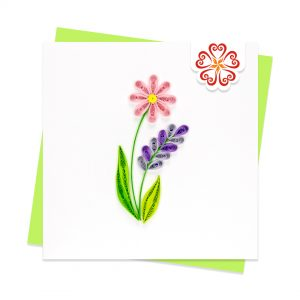 Quilling-Arts-Viet-Net-From-hand-with-love-Quilled-greeting-card-10x10cm-wild-flowers VN2NN110197NN