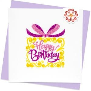 Quilling-Arts-Viet-Net-From-hand-with-love-Quilled-greeting-card-15x15cm-HPBD-HPBD-Cake-1 VN2QL115045E1
