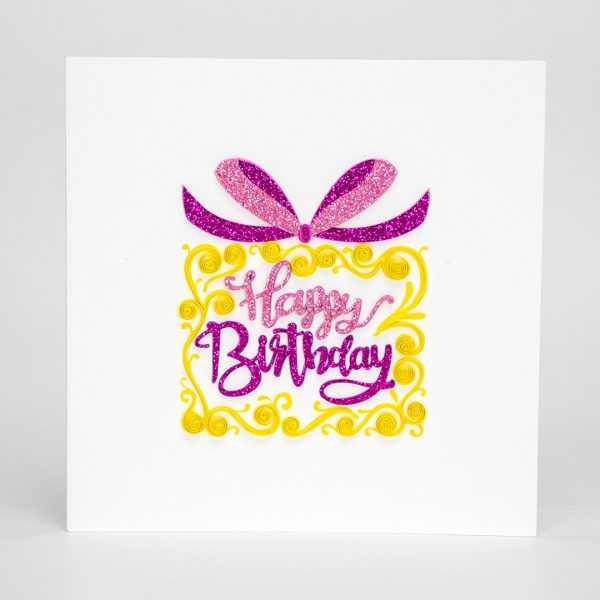 Quilling-Arts-Viet-Net-From-hand-with-love-Quilled-greeting-card-15x15cm-HPBD-HPBD-Cake VN2QL115045E1