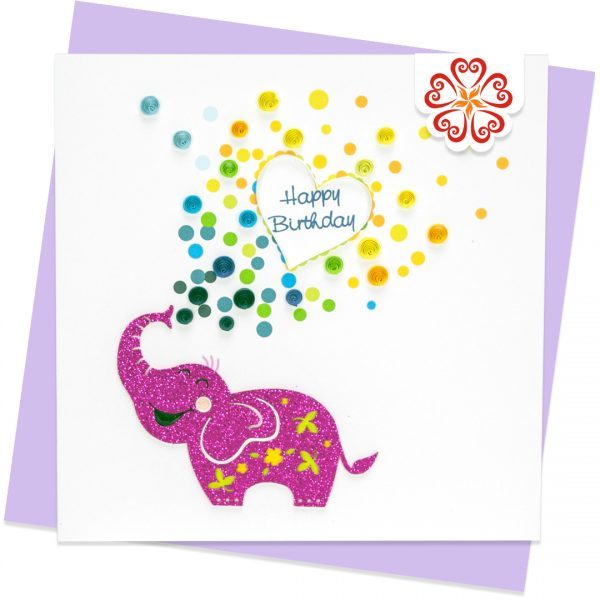 Quilling-Arts-Viet-Net-From-hand-with-love-Quilled-greeting-card-15x15cm-HPBD-purple-elephant VN2QL115043E1