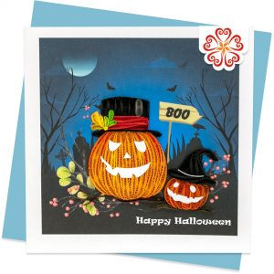 Quilling-Arts-Viet-Net-From-hand-with-love-Quilled-greeting-card-15x15cm-Halloween-pumpkins VN2XM115A33E1