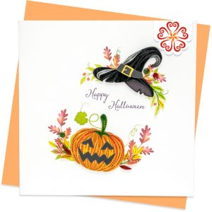 Quilling-Arts-Viet-Net-From-hand-with-love-Quilled-greeting-card-15x15cm-Halloween-pumpkins-wreath VN2XM115A35E1