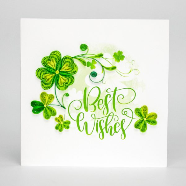 Quilling-Arts-Viet-Net-From-hand-with-love-Quilled-greeting-card-15x15cm-best-wishes--lucky-leaves-1 VN2XM115A23E1