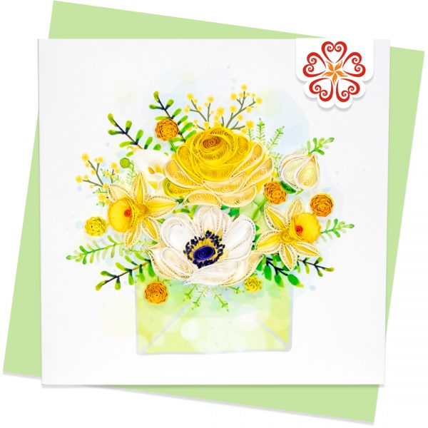 Quilling-Arts-Viet-Net-From-hand-with-love-Quilled-greeting-card-15x15cm-object-flowers-letter VN2XM115A17NN