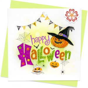 Quilling-Arts-Viet-Net-From-hand-with-love-light-Quilled-greeting-card-15x15cm-Halloween-pumpkins VN2QL115052E1
