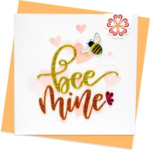 Quilling-Arts-Viet-Net-From-hand-with-love-light-Quilled-greeting-card-15x15cm-Love-Bee-mine VN2QL115026E1