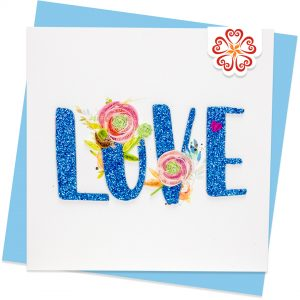 Quilling-Arts-Viet-Net-From-hand-with-love-light-Quilled-greeting-card-15x15cm-Love-Love-and-flowers-1 VN2QL115033E1