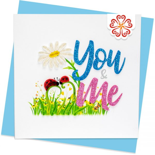 Quilling-Arts-Viet-Net-From-hand-with-love-light-Quilled-greeting-card-15x15cm-Love-you-and-me VN2QL115035E1
